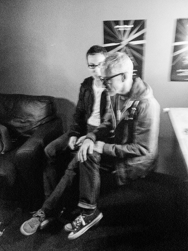 Interviewing my favourite DJs Above & Beyond =)