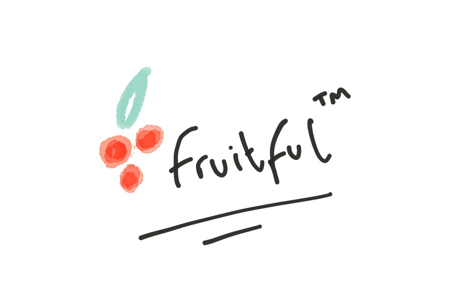Sketch of Fruitful logo