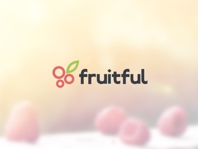 A snippet of Fruitful's logo