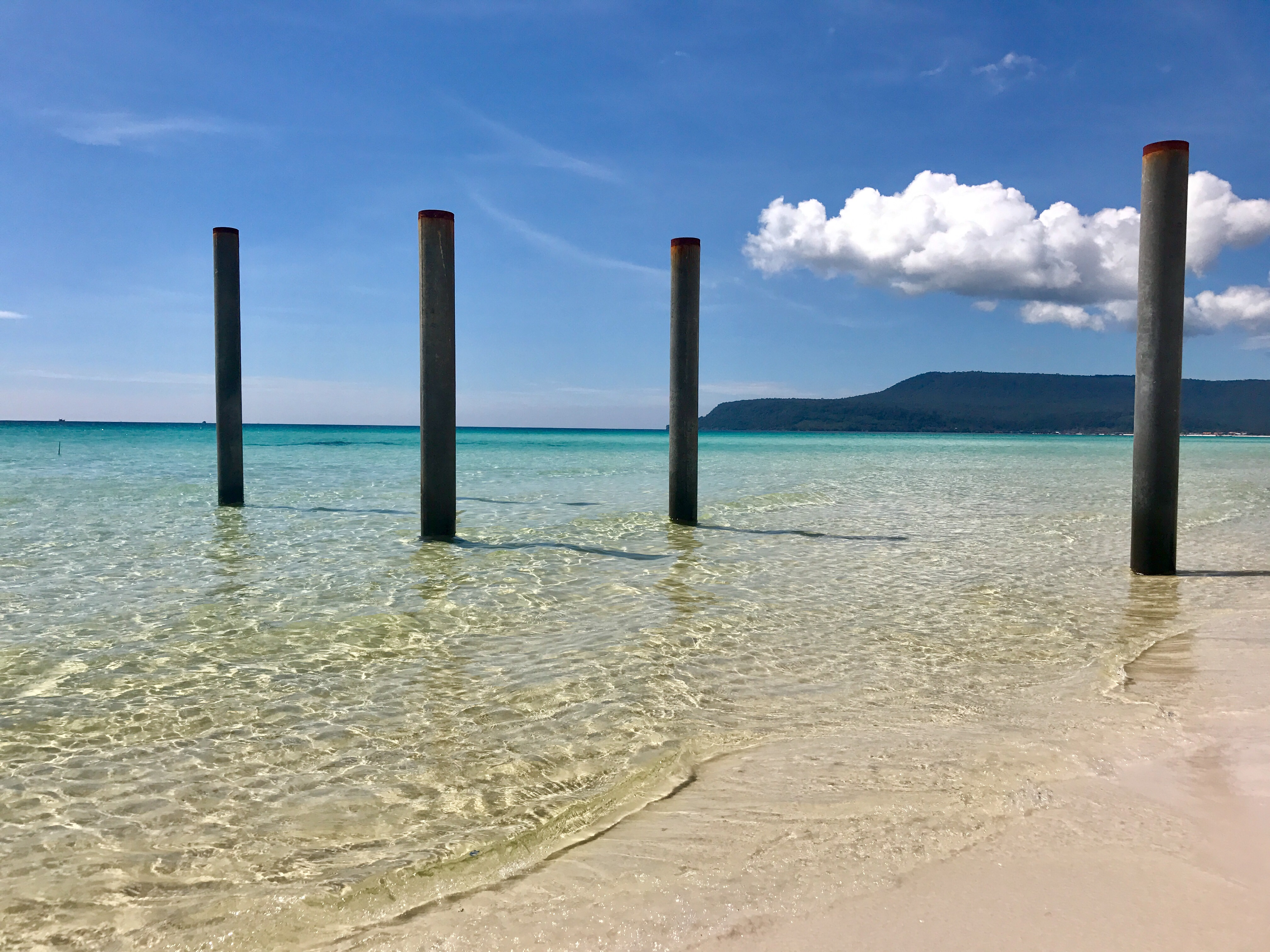Long beach, Koh Rong, Cambodia